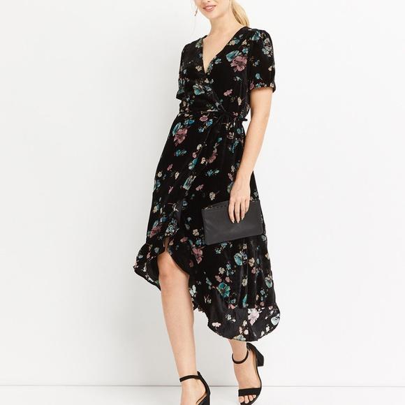 dd4c0e2292ba new OASIS Rosetti Floral Velvet Burnout Wrap Dress. Oasis.  M_5b5b82aabaebf69d242ff301. M_5b5b82aa2beb79a158f0187a.  M_5b5b82aa819e9017947debab
